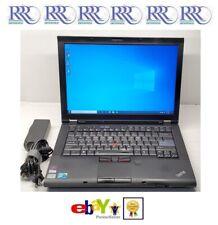 """Lenovo ThinkPad T410 Laptop Core i5 2.53Ghz 14"""" 4Gb 250Gb Dvdrw WiFi Bt Fpr W10"""