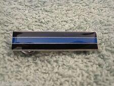 Thin Blue Line Police Citation Merit Badge TBL Pin New Silvertone Merit Bar