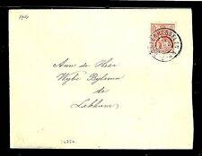 NEDERLAND 1906 COVER  GR STEMPEL - OOSTERHESSELEN -  VF   @1