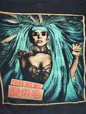 Lady Gaga Free As My Hair 2013 Concert Tour T-Shirt Born This Way Ball M?