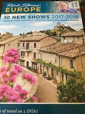 Rick Steves' Europe: 10 New Shows 2017-2018 (DVD set) SEALED