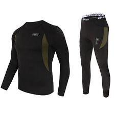 Men's Outdoor Tactical Winter Warm Sport Fleece Underwear Thermal Under clothes