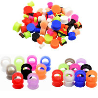LOT 54pcs Thin &Thick Silicone Ear Plugs Gauges Kit Tunnel Ear Piercing 27 PAIR