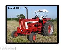 Farmall 806 Tractor Refrigerator/Toolbox Magnet