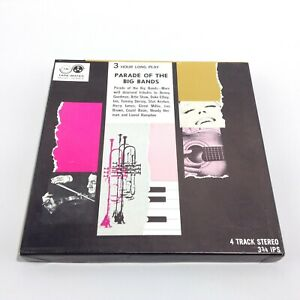 PARADE OF THE BIG BANDS Reel To Reel Tape TMS-138 3 3/4 IPS THREE HOUR Long Play