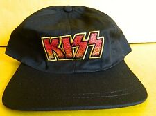 KISS ROCK BAND LOGO SNAP-BACK TRUCKERS HAT - ALIVE IN JAPAN TOUR, 2003 -` NEW
