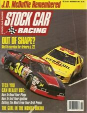 STOCK CAR RACING 1991 NOV - P J Hotshoe, Bobby Labonte, Jo, Nemechek, Hyder