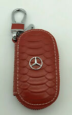 Key Chain Case Red For Mercedes