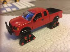 1/64 Custom Ford F-150 Ertl Ford Pickup Diecast Matchbox Tracks