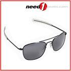 HUMVEEPolarized Bayonette Style Military Sunglasses w Grey Lenses & Black Frame