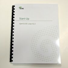 OpenSuse Leap 42.1 Startup Guide. 265 Color Pages.  ShopLinuxOnline