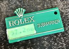 ROLEX Submariner Green Tag Hangtag 1680 5512 5513 5514 Sea-Dweller Red Writing
