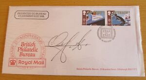 """FDC (First Day Cover) Signed Ainsley Harriott, """"Ready, Steady, Cook"""""""