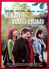 TO PAINT OR MAKE LOVE 2005 FRENCH AZEMA AUTEUIL CASAR LOPEZ SERBIAN MOVIE POSTER