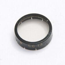 Kodak W Mount Wratten Filter - CC13 - For Movie Camera - Good Glass USED X767