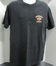 Pacific Harley Davidson Motorcycles T-Shirt, Large, S/S, Black, Honolulu, Hawaii