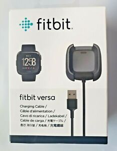 Fitbit Versa 1 & Versa Lite, USB Charging Dock Station Cable Charger- NEW SEALED