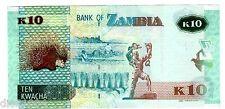 ZAMBIE Zambia Billet 10 Kwacha 2012 (  2013 ) HERISSON NEW  NOUVEAU UNC NEUF