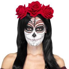 Day of the Dead Headband Rose Headband Mexico Halloween Accessory Smiffys 27744