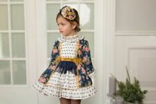 BNWT Dolce Petit girls  dress and matching hair band SALE fit age 4 years