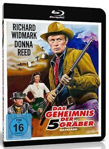 Das Geheimnis der 5 Gräber [Blu-ray/NEU/OVP] Western mit Richard Widmark, Donna
