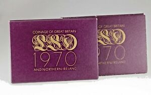 1970 Great Britain & Northern Ireland Proof sets Lot of 2