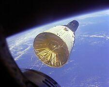 Gemini 7 spacecraft viewed in orbit from Gemini 6 Photo Print