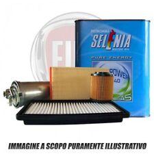 KIT TAGLIANDO 4 LT SELENIA GAS 5W40 +3 FILTRI FIAT 500L 0.9 METANO NATURAL POWER