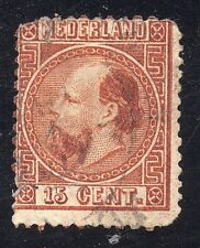 Netherlands Sc #9c Perf 13 1/2 x 13 With Faults
