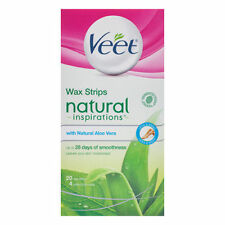 Veet Naturals Cold Wax Strip - 20 Pack