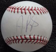 ALBERT PUJOLS OML AUTO BASEBALL STEINER  COA  LOS ANGELES  MINT+ 600 HRS