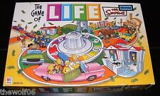 2004 The Game of Life The Simpsons Edition Board Game