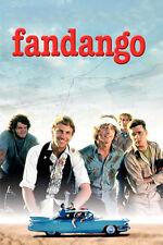 FANDANGO movie poster kevin COSTNER judd NELSON road ADVENTURE new 24X36