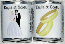 120 WEDDING FAVORS CANDY WRAPPERS - GREAT ITEM
