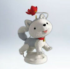 2012 Hallmark JINGLE THE HUSKY PUP Ornament A SNOW DAY FOR JINGLE *US Priority*