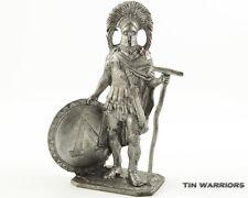 Spartan commander 5 BC Tin toy soldiers 54mm miniature figurine. metal sculpture