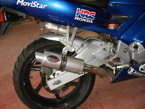 Honda CBR600 FM-FW 1990-1998 Satin Stainless GP PRO RACE  Motorbike Exhaust