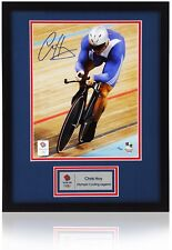"Official SIR CHRIS HOY Hand Signed London 2012 Olympics 10x8"" Numbered Photo"