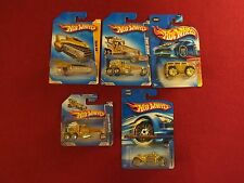 "(5) "" GOLD RIDES  "" HOT WHEELS DIECASTS  ALL DIFFERENT FACTORY SEALED !"