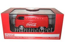 MOTOR CITY CLASSICS 430004 1962 VW VOLKSWAGEN COKE COCA COLA CARGO VAN 1/43 RED