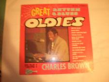 SEALED CHARLES BROWN LP - GREAT R&B OLDIES VOLUME 2