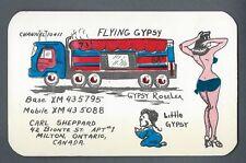 """Vintage Postcard """"Flying Gypsy"""", Radio Antenna, Canada"""