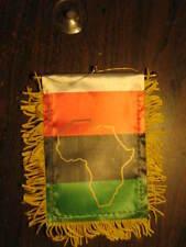 "AFRICAN AMERICAN  FLAG MINI BANNER 4""x6""  WINDOW MIRROR"
