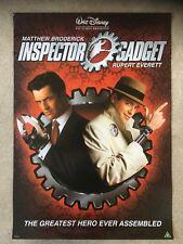 Disney Inspector Gadget Video Shop Film Poster (A2 Size from 1999) Rare