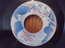 45 PHILLIPS INTERNATIONAL 3531 Cliff Thomas - SORRY I LIED / LEAVE IT TO ME - M-