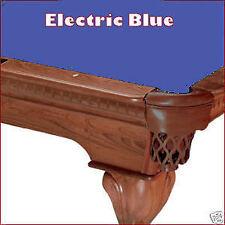 7' Electric Blue ProLine Classic TEFLON Billiard Pool Table Cloth Felt
