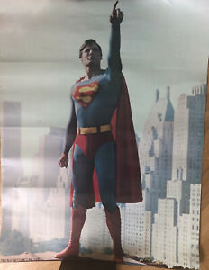 Vintage Poster TMs & DC Comics Inc. Superman the Movie  1978 VERY GOOD +++++