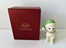 "Lenox Santa's Kitty Elf 4"" Figurine Mib"