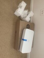 HP Tango X Wireless Printer with Indigo Linen Cover