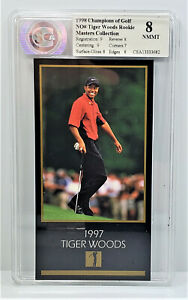 1998 Champions of Gold NO# Tiger Woods Rookie Golf Card Masters Collection